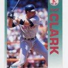 1992 Fleer Baseball #036 Jack Clark - Boston Red Sox