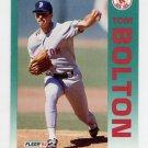 1992 Fleer Baseball #033 Tom Bolton - Boston Red Sox