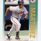 1992 Fleer Baseball #013 Chito Martinez - Baltimore Orioles