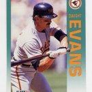 1992 Fleer Baseball #006 Dwight Evans - Baltimore Orioles