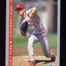 1993 Fleer Baseball #398 Scott Ruskin - Cincinnati Reds