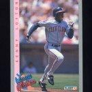1993 Fleer Baseball #346 Kenny Lofton LL - Cleveland Indians