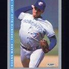 1993 Fleer Baseball #341 Duane Ward - Toronto Blue Jays