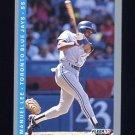 1993 Fleer Baseball #337 Manuel Lee - Toronto Blue Jays