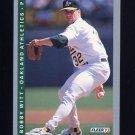 1993 Fleer Baseball #303 Bobby Witt - Oakland A's