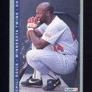 1993 Fleer Baseball #262 Chili Davis - Minnesota Twins
