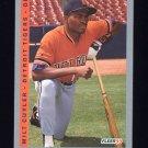 1993 Fleer Baseball #224 Milt Cuyler - Detroit Tigers