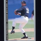 1993 Fleer Baseball #201 Alex Fernandez - Chicago White Sox