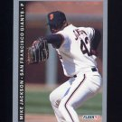 1993 Fleer Baseball #156 Mike Jackson - San Francisco Giants