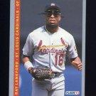 1993 Fleer Baseball #127 Ray Lankford - St. Louis Cardinals