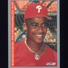 1993 Fleer Baseball #101 Mariano Duncan - Philadelphia Phillies