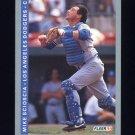 1993 Fleer Baseball #067 Mike Scioscia - Los Angeles Dodgers