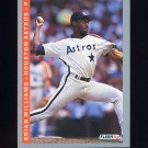 1993 Fleer Baseball #056 Brian Williams - Houston Astros
