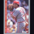 1993 Fleer Baseball #038 Joe Oliver - Cincinnati Reds