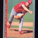 1993 Fleer Baseball #036 Milt Hill - Cincinnati Reds