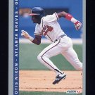 1993 Fleer Baseball #010 Otis Nixon - Atlanta Braves