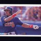 1994 Fleer Baseball #356 Francisco Cabrera - Atlanta Braves