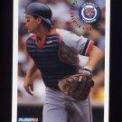1994 Fleer Baseball #137 Chad Kreuter - Detroit Tigers