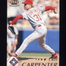 1995 Pacific Baseball #422 Cris Carpenter - Texas Rangers