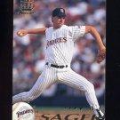 1995 Pacific Baseball #370 A.J. Sager - San Diego Padres
