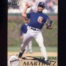 1995 Pacific Baseball #366 Jose Martinez - San Diego Padres