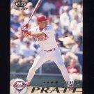 1995 Pacific Baseball #336 Todd Pratt - Philadelphia Phillies