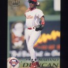 1995 Pacific Baseball #327 Mariano Duncan - Philadelphia Phillies