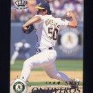 1995 Pacific Baseball #318 Steve Ontiveros - Oakland A's