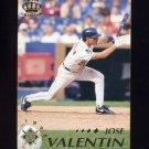 1995 Pacific Baseball #241 Jose Valentin - Milwaukee Brewers