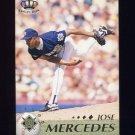 1995 Pacific Baseball #236 Jose Mercedes - Milwaukee Brewers