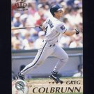 1995 Pacific Baseball #171 Greg Colbrunn - Florida Marlins