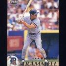 1995 Pacific Baseball #161 Alan Trammell - Detroit Tigers