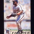 1995 Pacific Baseball #151 Cecil Fielder - Detroit Tigers