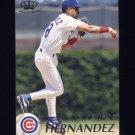 1995 Pacific Baseball #072 Jose Hernandez - Chicago Cubs