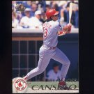1995 Pacific Baseball #033 Jose Canseco - Boston Red Sox