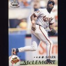 1995 Pacific Baseball #025 Mark McLemore - Baltimore Orioles