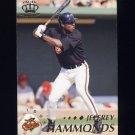 1995 Pacific Baseball #022 Jeffrey Hammonds - Baltimore Orioles
