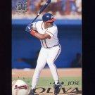 1995 Pacific Baseball #014 Jose Oliva - Atlanta Braves