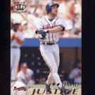 1995 Pacific Baseball #005 David Justice - Atlanta Braves