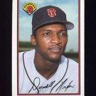 1989 Bowman Baseball #477 Donell Nixon - San Francisco Giants