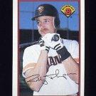 1989 Bowman Baseball #473 Robby Thompson - San Francisco Giants