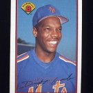 1989 Bowman Baseball #376 Dwight Gooden - New York Mets