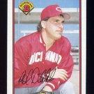 1989 Bowman Baseball #305 Rob Dibble - Cincinnati Reds NM-M