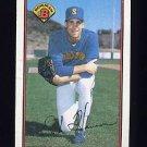 1989 Bowman Baseball #206 Erik Hanson RC - Seattle Mariners