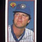 1989 Bowman Baseball #130 Don August - Milwaukee Brewers