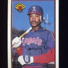 1989 Bowman Baseball #049 Johnny Ray - California Angels