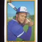 1990 Bowman Baseball #524 Tony Fernandez - Toronto Blue Jays