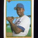 1990 Bowman Baseball #498 Gary Pettis - Texas Rangers
