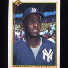1990 Bowman Baseball #444 Roberto Kelly - New York Yankees