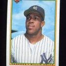 1990 Bowman Baseball #425 Willie Smith - New York Yankees